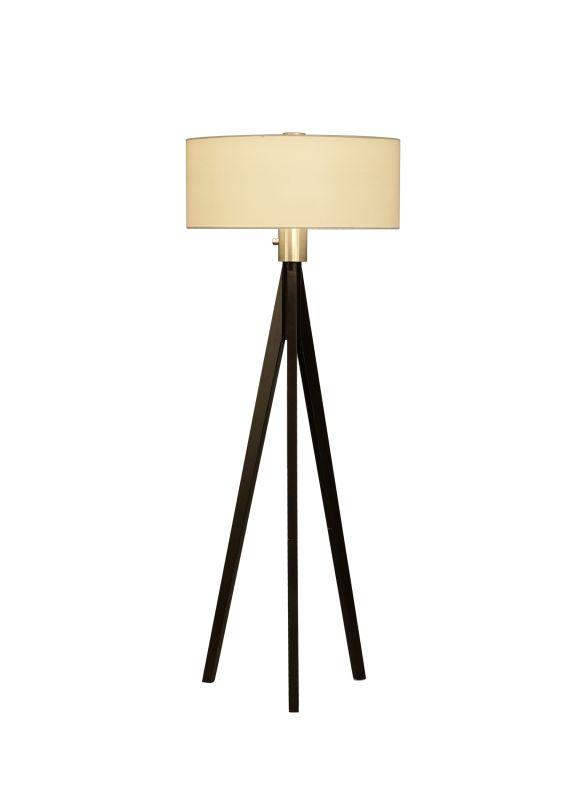 Nova Lighting 10858 24 Inch Floor Lamp From the Tripod Collection Dark