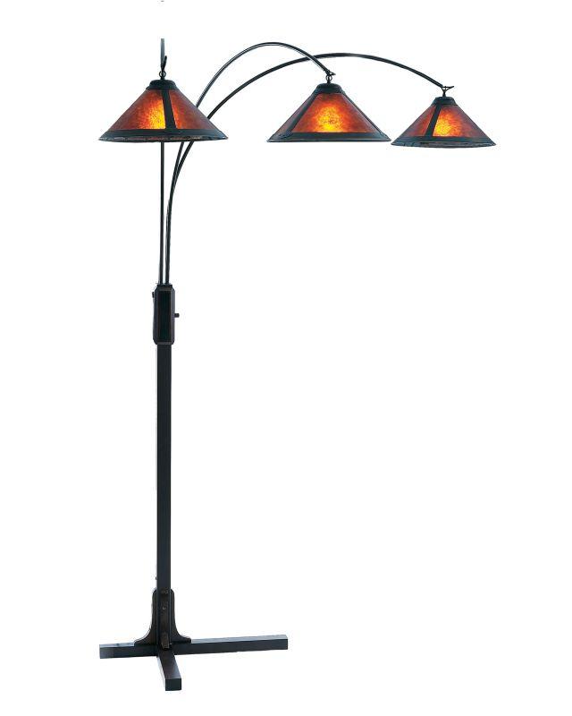 Nova Lighting 4212BZ 58 Inch Floor Lamp From the Mica Collection Dark
