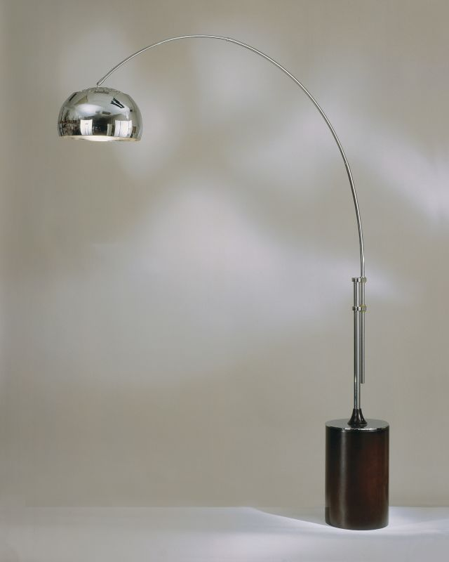 Nova Lighting 4361CX 47 Inch Floor Lamp From the Contour Collection