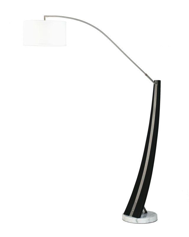"Nova Lighting 4553 Planar 1 Light 87"" Tall Floor Lamp Dark Brown Wood"