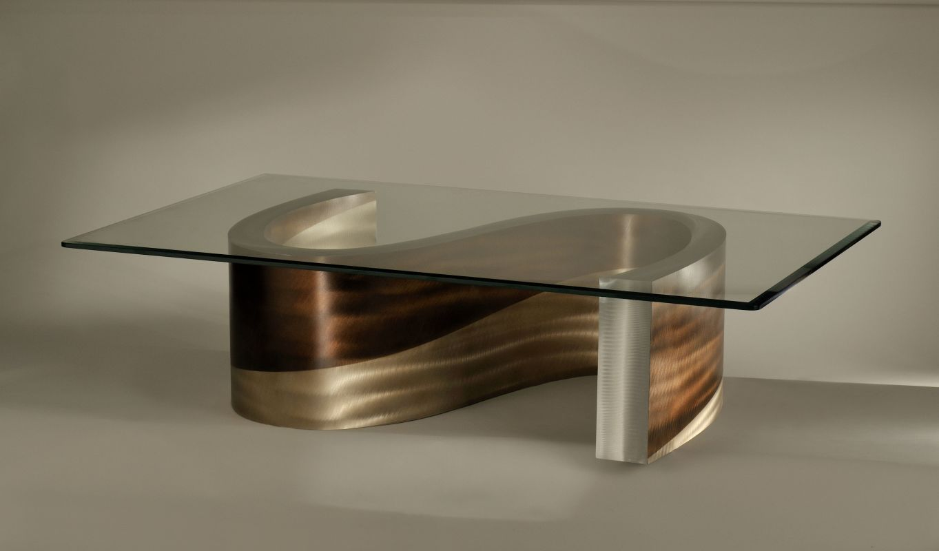 Nova Lighting CKT15RBA Contemporary Meandering Cocktail Table From The