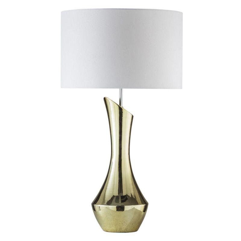"Nova Lighting 1010483 Amphora 1 Light 29"" Tall Table Lamp Gold Lamps"