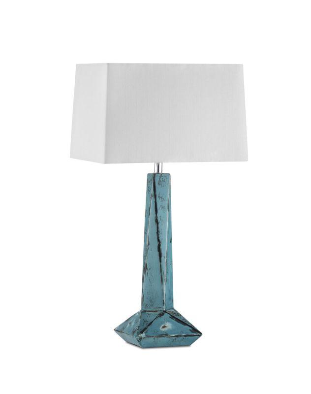 "Nova Lighting 1010756 Facets 1 Light 29"" Tall Table Lamp Weathered"