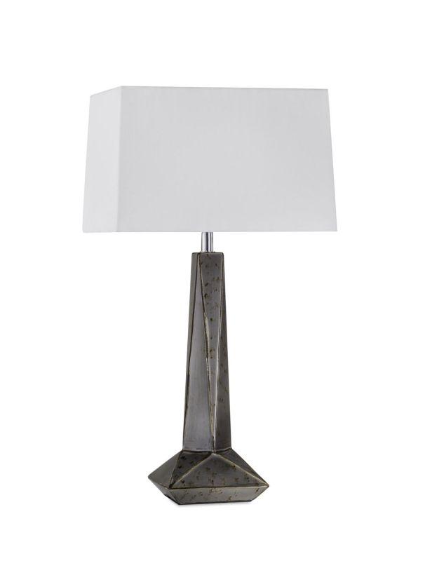 "Nova Lighting 1010790 Facets 1 Light 29"" Tall Table Lamp Weathered"