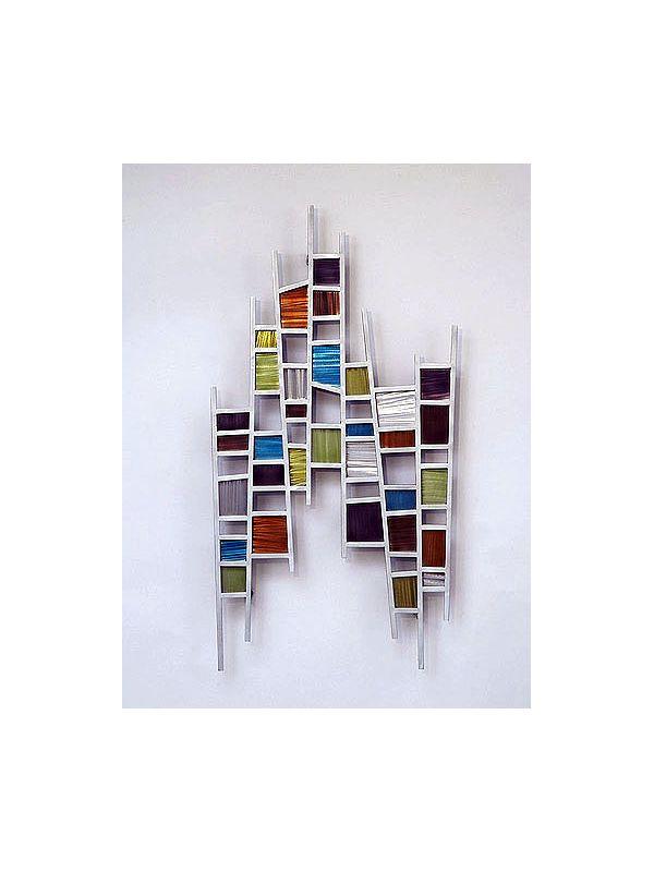 "Nova Lighting Colored Windows Wall Art Nova Art Studio 36"" x 19"""