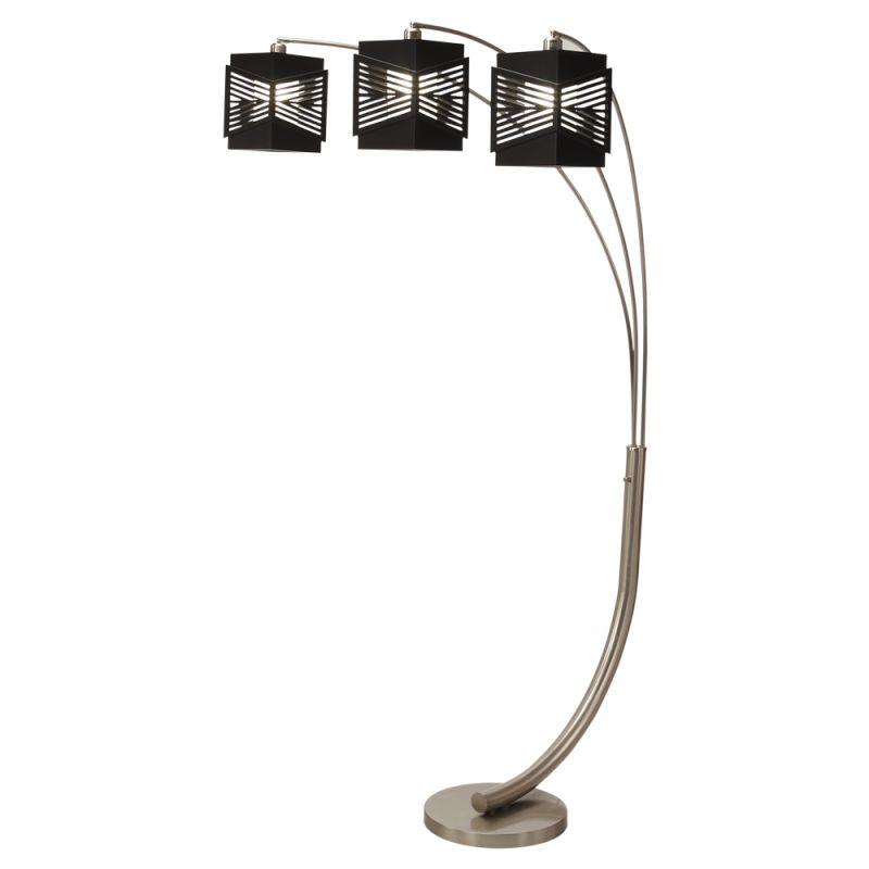 Nova Lighting 2310314 Redact 3 Light Arc Floor Lamp Brushed Nickel Sale $678.50 ITEM: bci2265005 ID#:2310314 :