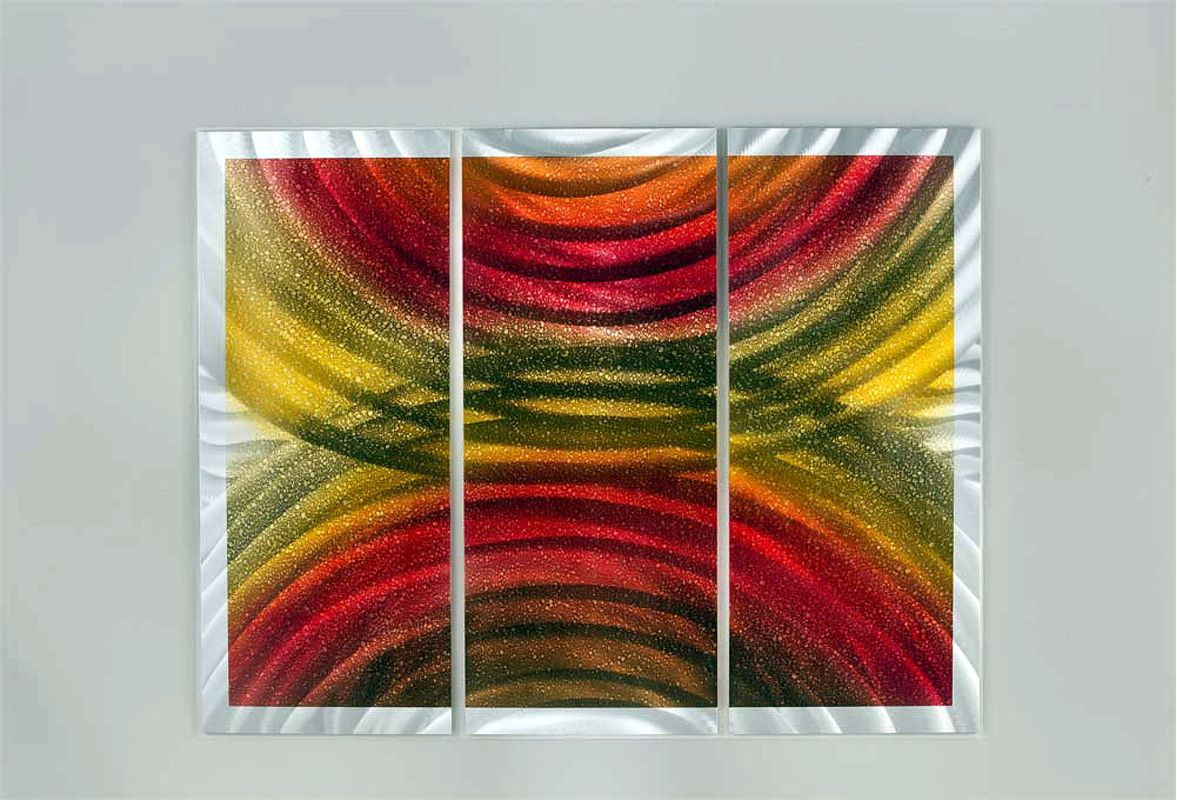"Nova Lighting Rainbows Wall Art Nova Art Studio 54"" x 42"" Rainbows"