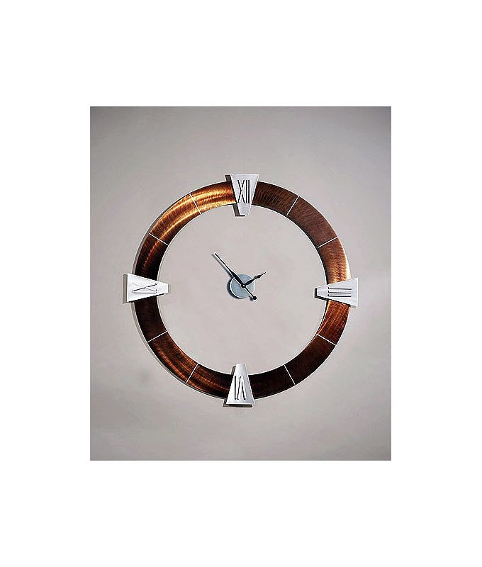 "Nova Lighting Decoround Roman Clock Jon Gilmore Design Modern 42"" Tall"