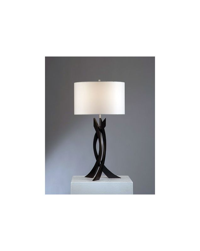 Nova Lighting 10961 30 Inch Transitional Table Lamp with White Linen