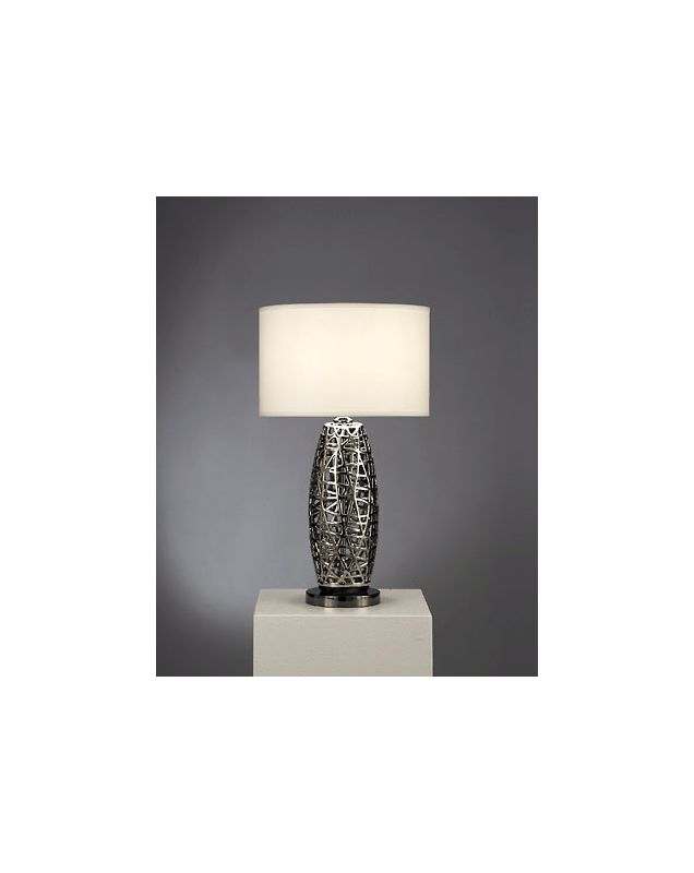 Nova Lighting 11080 30 Inch Cylindrical Table Lamp with White Linen Sale $310.50 ITEM: bci1686328 ID#:11080 UPC: 666198126597 :