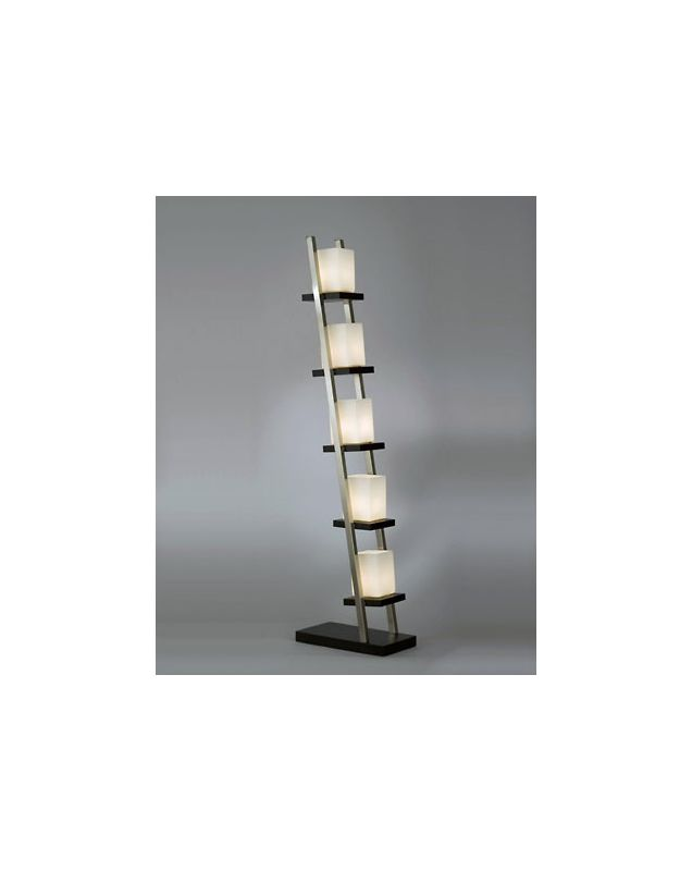 Nova Lighting 11815 60.5 Inch Floor Lamp with Frosted Glass Shades Sale $540.50 ITEM: bci1686401 ID#:11815 UPC: 666198132147 :