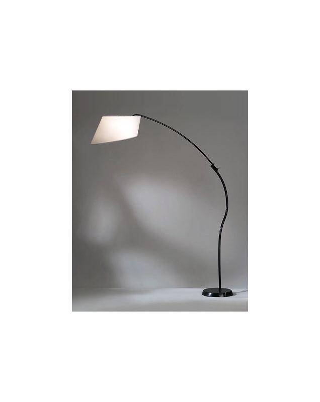 Nova Lighting 12017 84.5 Inch Transitional Arc Floor Lamp in White