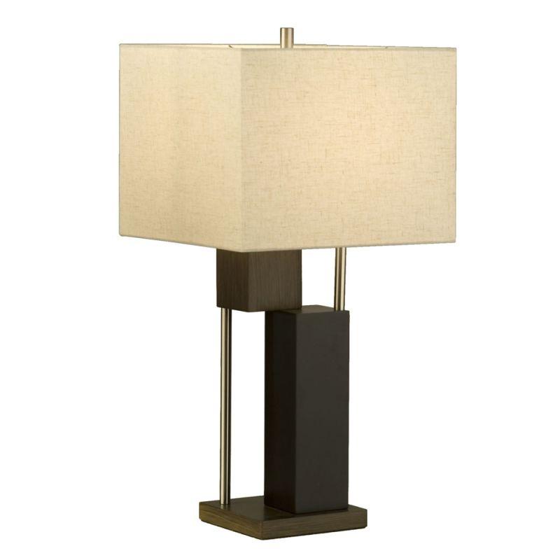"Nova Lighting 1010173 Bild 28"" Height Table Lamp with Oatmeal Linen"