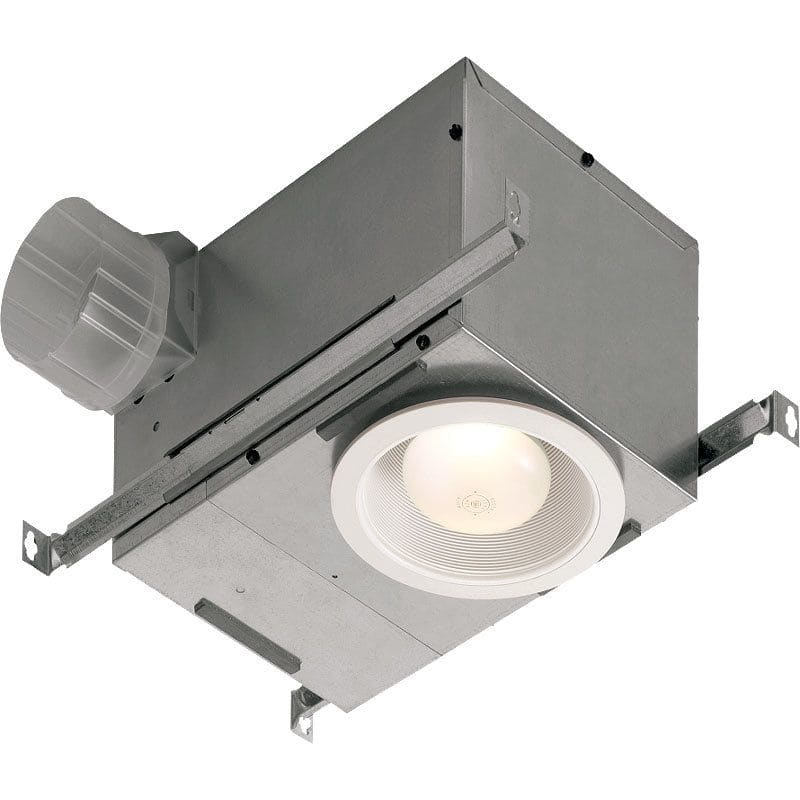 NuTone 744FLNT 70 CFM 1.5 Sone Ceiling Mounted Energy Star Rated and