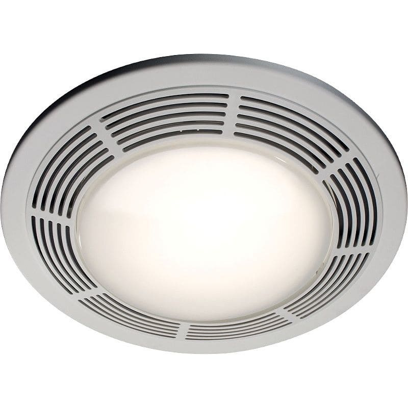 NuTone 8663RP 100 CFM 3.5 Sone Ceiling Mounted HVI Certified Bath Fan