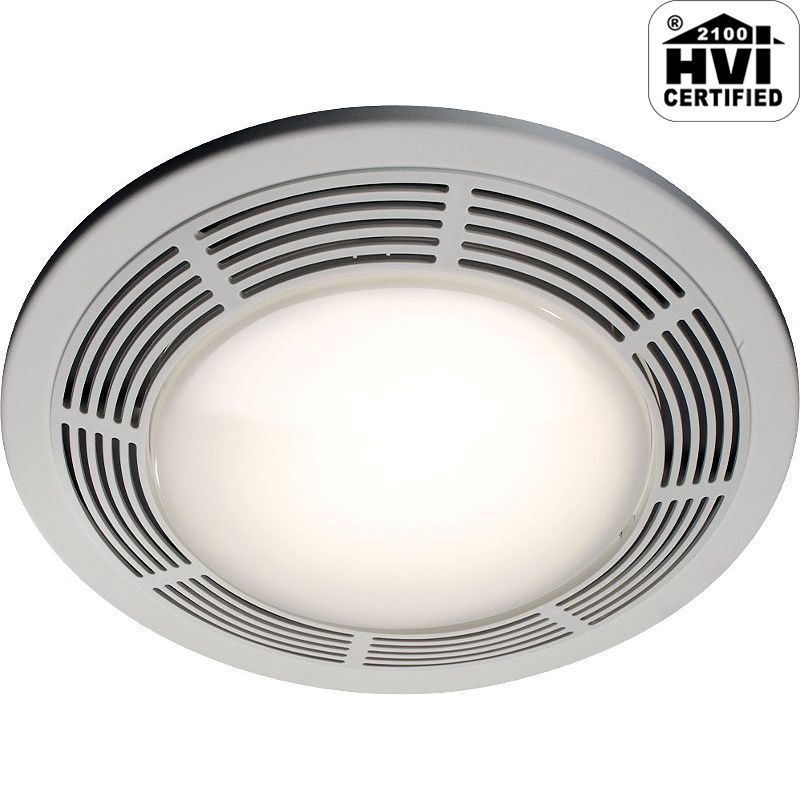 NuTone 8664RP 100 CFM 3.5 Sone Ceiling Mounted HVI Certified Bath Fan