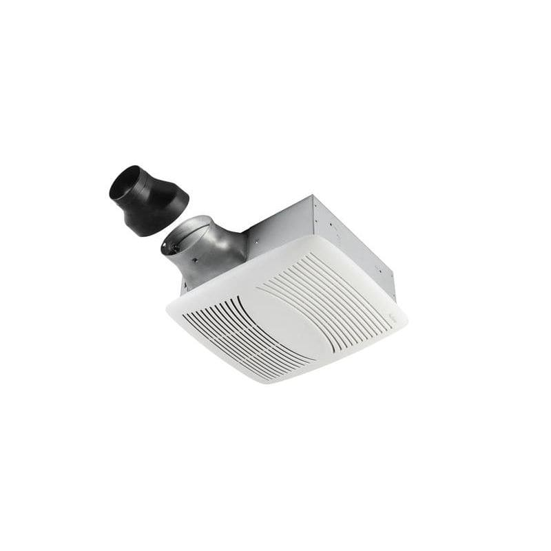 NuTone EZ80N 80 CFM 1.1 Sone Ceiling Mounted Energy Star Rated EZFit