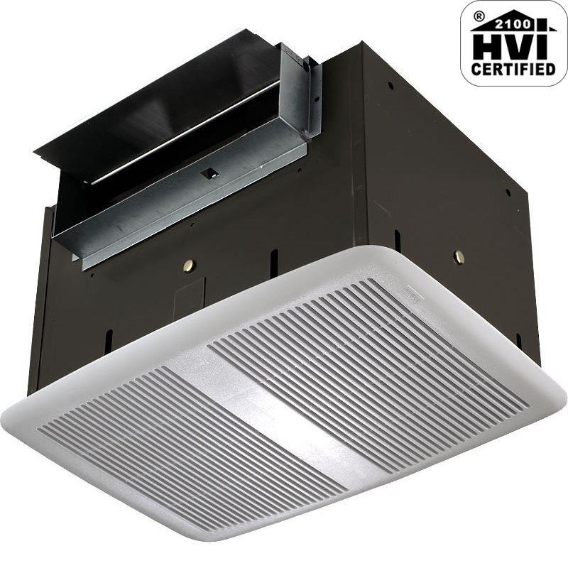 NuTone QT200 200 CFM 2 Sone Ceiling Mounted HVI Certified Utility Fan