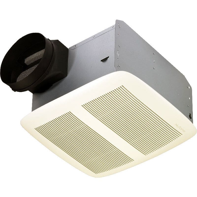 NuTone QTXEN110 110 CFM 0.7 Sone Ceiling Mounted Energy Star Rated HVI
