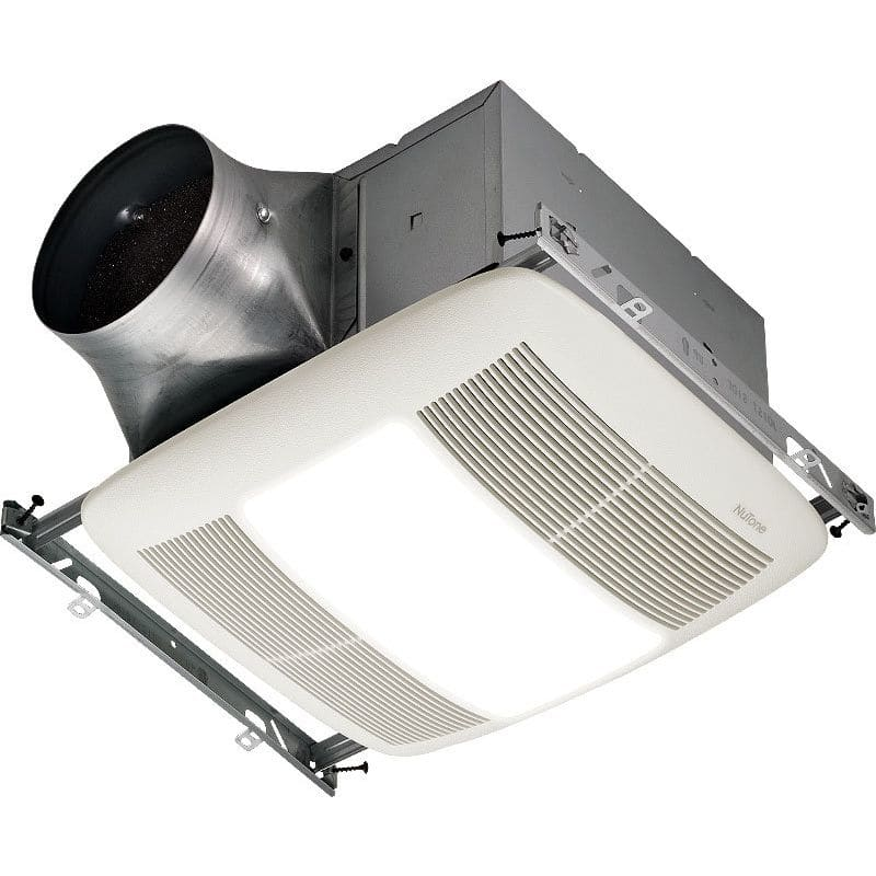 NuTone ZN80L 80 CFM 0.3 Sone Ceiling Mounted Energy Star Rated and HVI