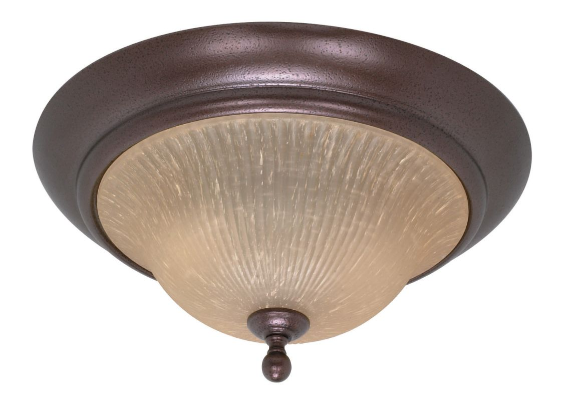 "Nuvo Lighting 60/011 Moulan 2 Light 16"" Wide Flush Mount Ceiling"