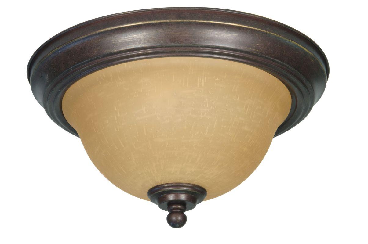 "Nuvo Lighting 60/1037 Castillo 2 Light 11.3"" Wide Flush Mount Ceiling"