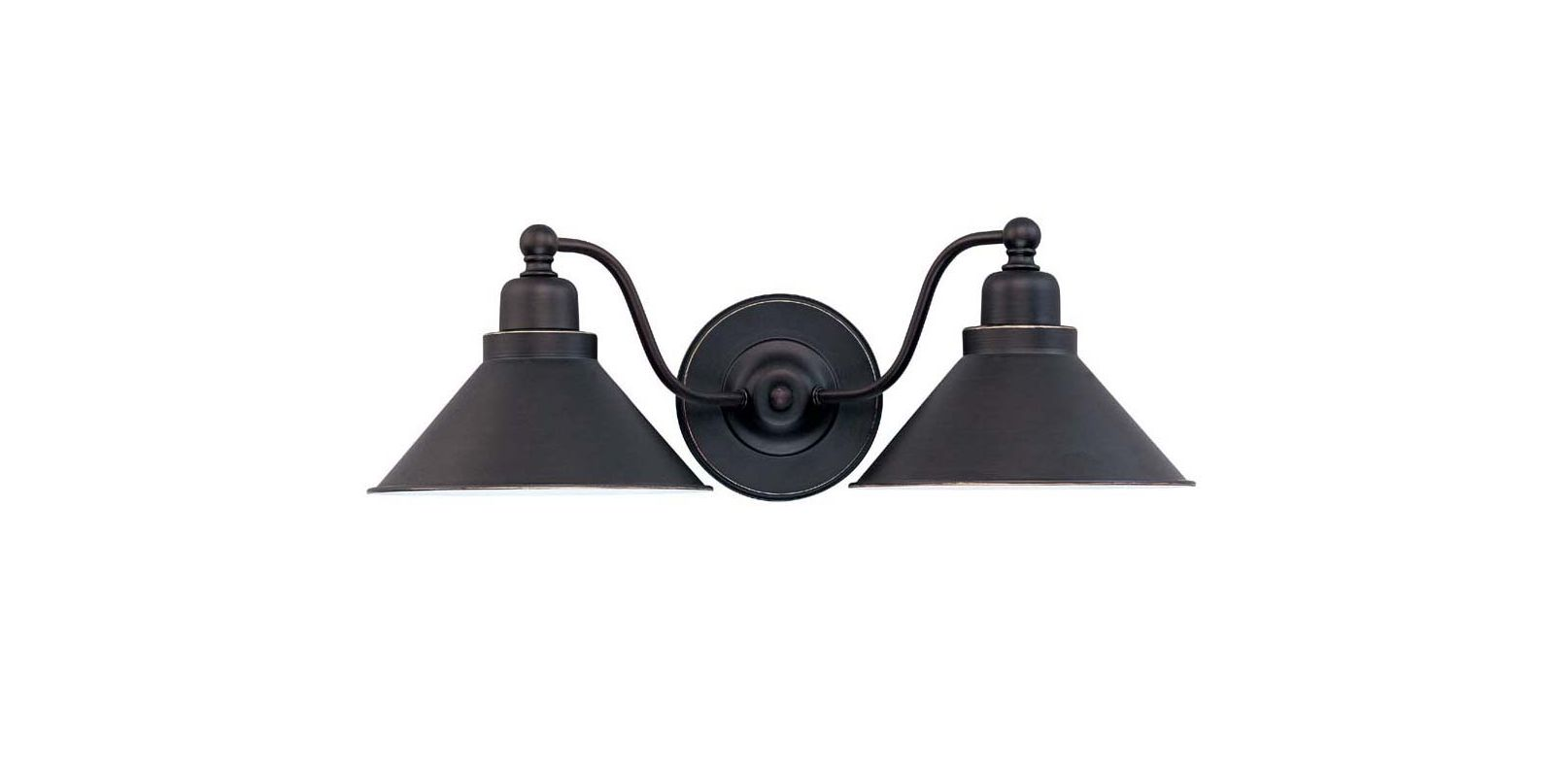Nuvo Lighting 60/1711 Bridgeview 2 Light Bathroom Vanity Light - 20
