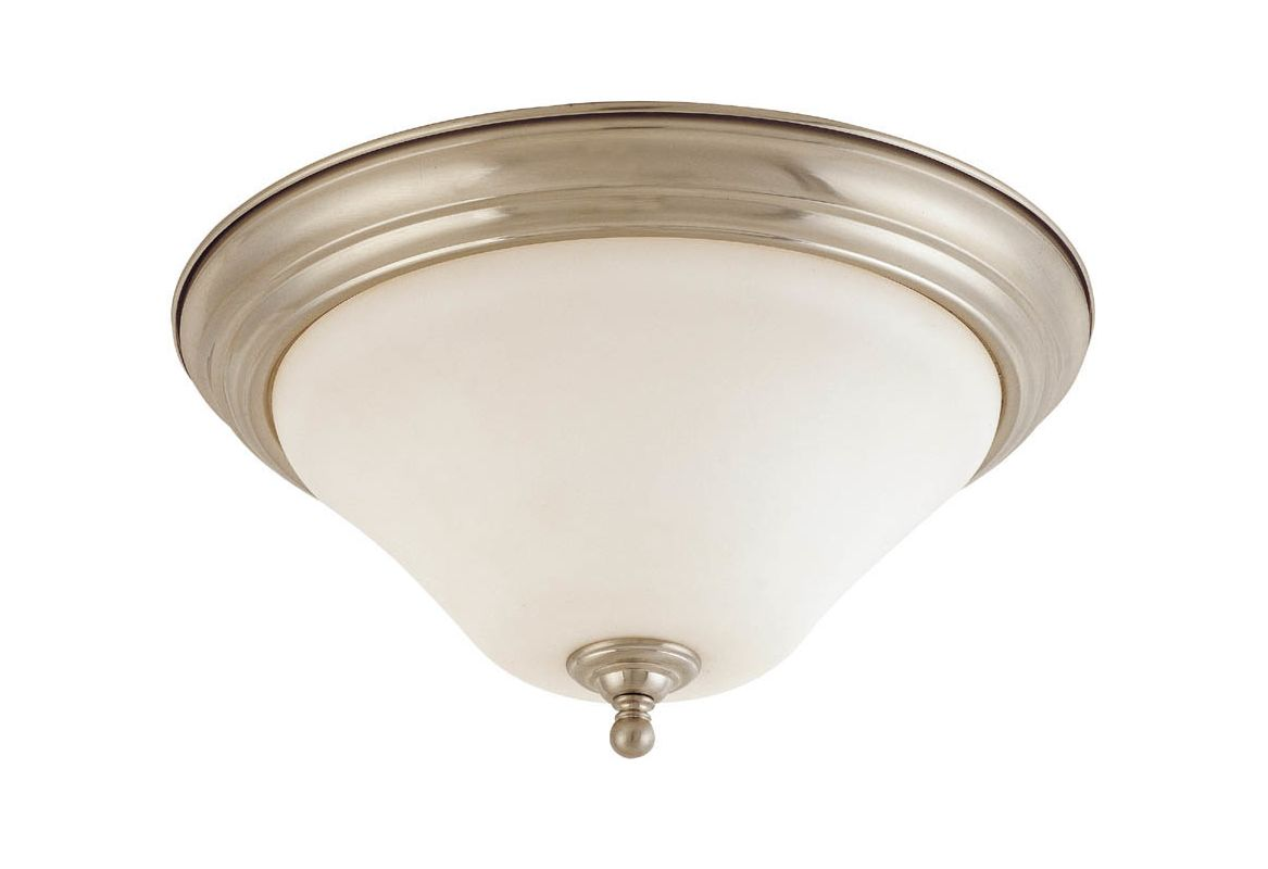 "Nuvo Lighting 60/1904 Dupont Single Light 11"" Wide Flush Mount Ceiling"