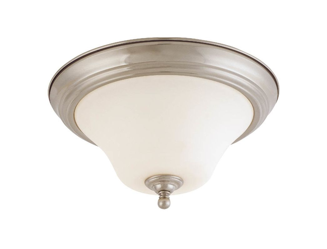 "Nuvo Lighting 60/1905 Dupont 2 Light 13"" Wide Flush Mount Ceiling"