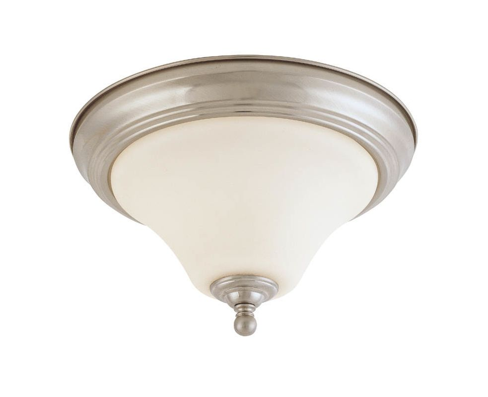 "Nuvo Lighting 60/1906 Dupont 2 Light 15"" Wide Flush Mount Ceiling"
