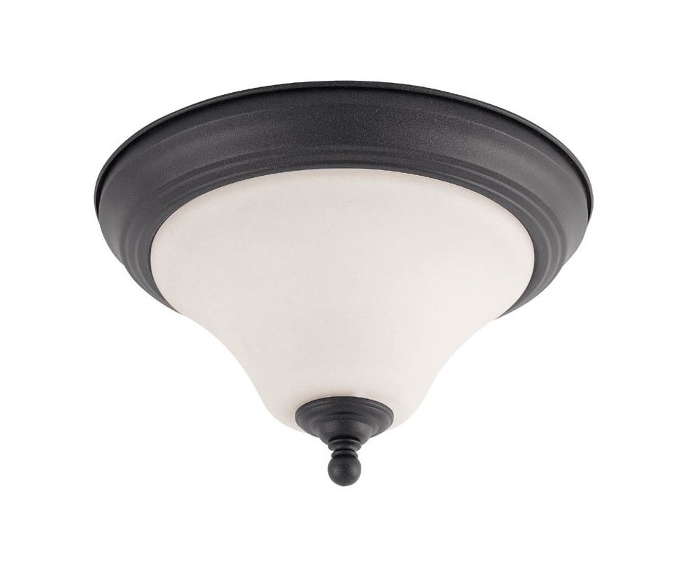 "Nuvo Lighting 60/1925 Dupont 2 Light 13"" Wide Flush Mount Ceiling"