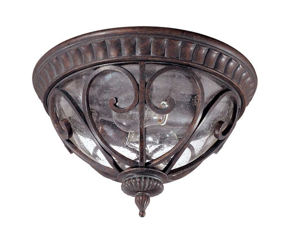 Nuvo Lighting 60/2067 Corniche 2 Light Flush Mount Outdoor Ceiling Sale $99.99 ITEM: bci910581 ID#:60/2067 UPC: 45923620676 :