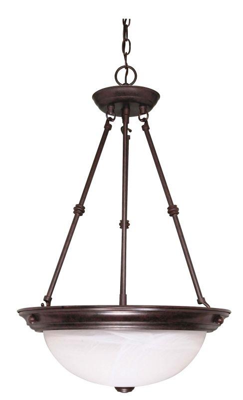 "Nuvo Lighting 60/211 Three Light 15"" Wide Bowl Pendant Old Bronze"