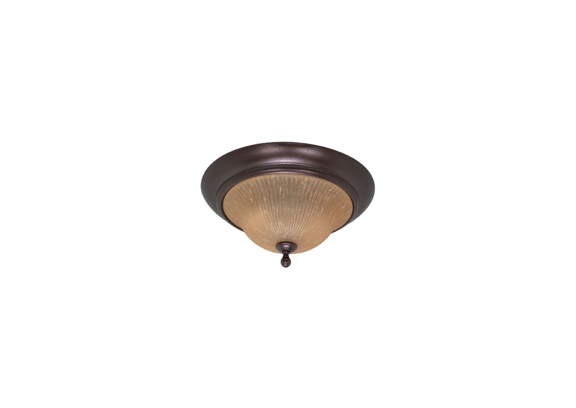 "Nuvo Lighting 60/2406 Moulan 2 Light 16"" Wide Flush Mount Ceiling"