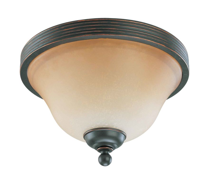 "Nuvo Lighting 60/2752 Montgomery 2 Light 11"" Wide Flush Mount Ceiling"