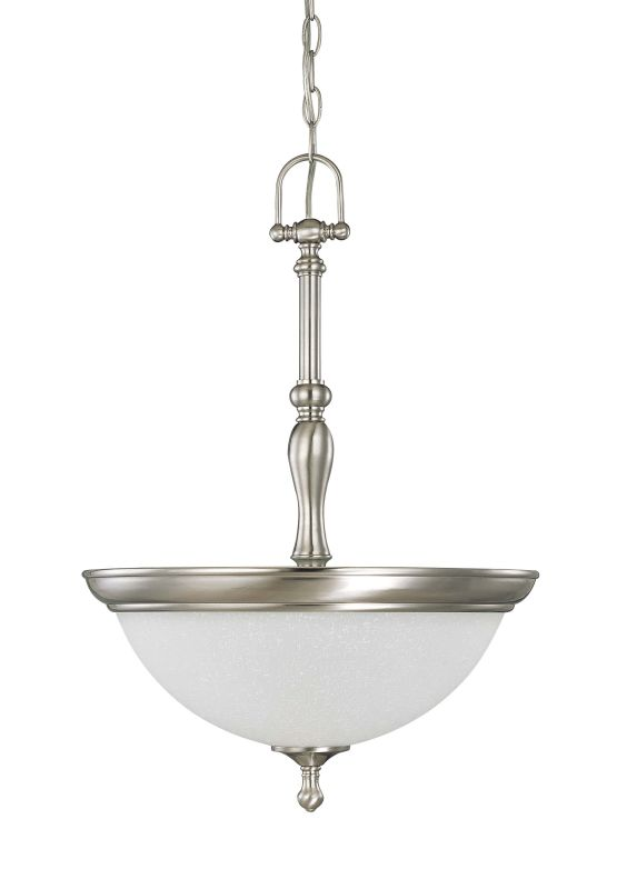 "Nuvo Lighting 60/2782 Bella 3 Light 15.8"" Wide Pendant with Frosted"