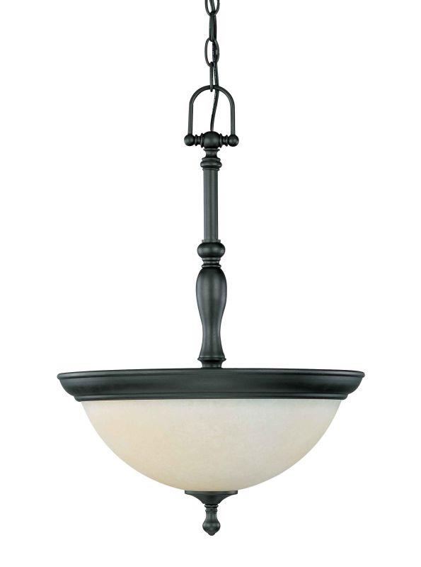 Nuvo Lighting 60/2783 Three Light Down Lighting Bowl Pendant from the