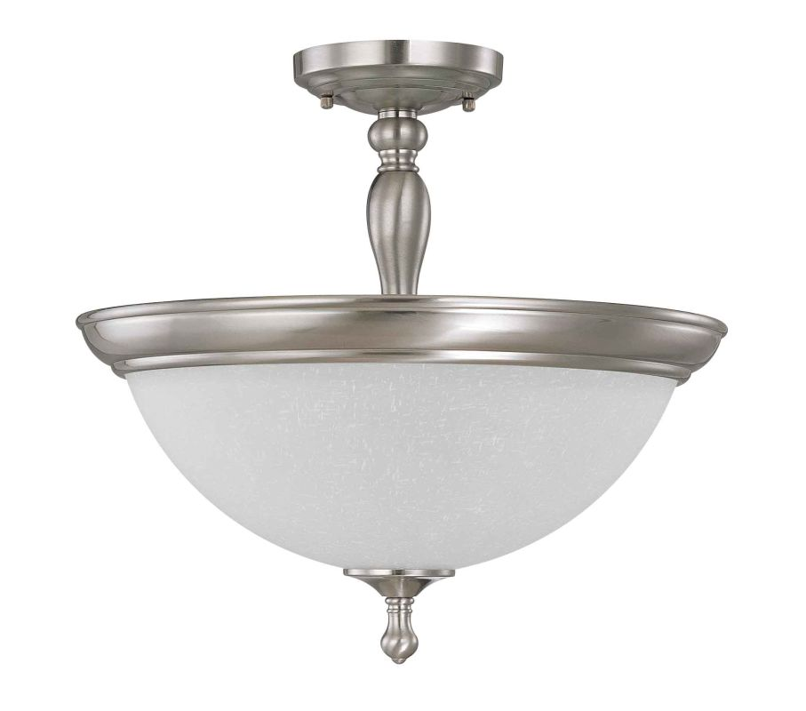 "Nuvo Lighting 60/2786 Bella 3 Light 15.8"" Wide Semi-Flush Ceiling"