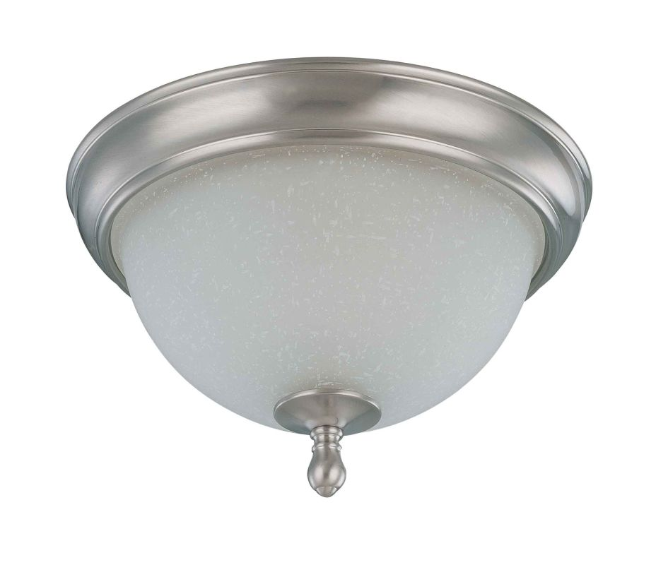 "Nuvo Lighting 60/2788 Bella 2 Light 11.3"" Wide Flush Mount Ceiling"