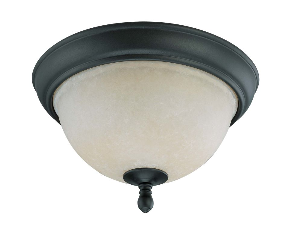 "Nuvo Lighting 60/2789 Bella 2 Light 11.3"" Wide Flush Mount Ceiling"