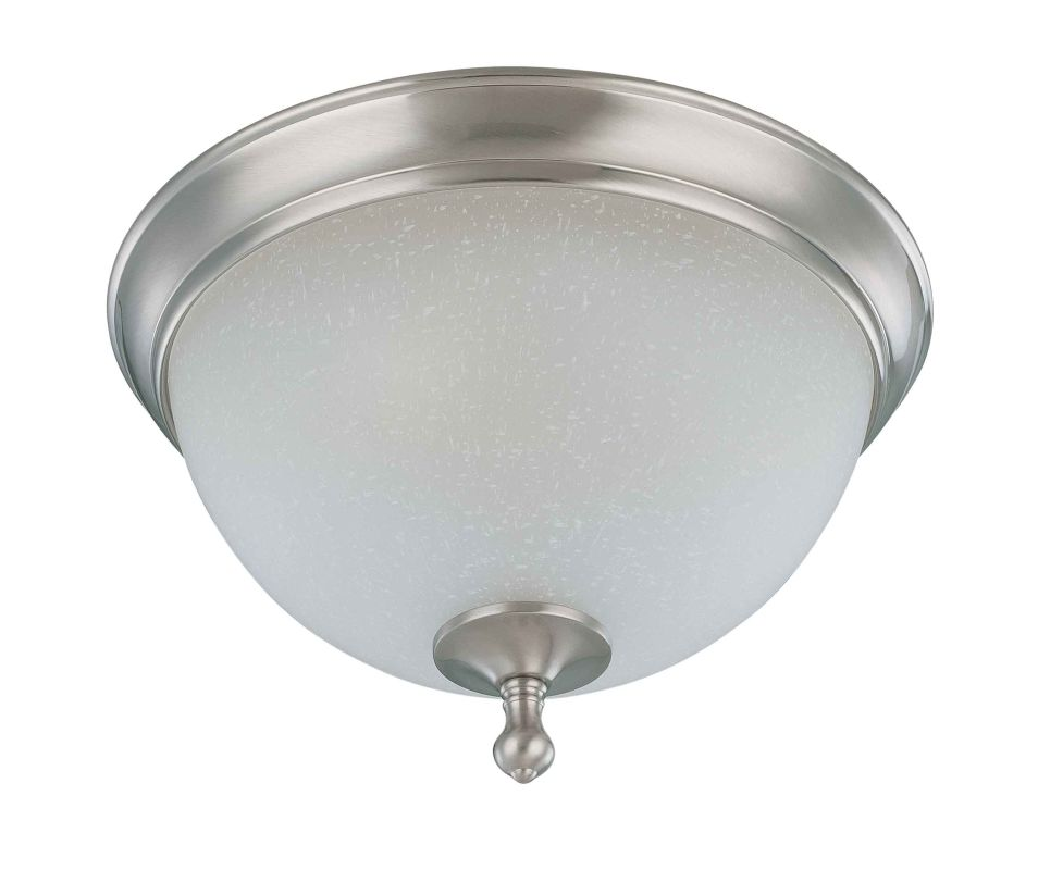 "Nuvo Lighting 60/2791 Bella 2 Light 13.5"" Wide Flush Mount Ceiling"