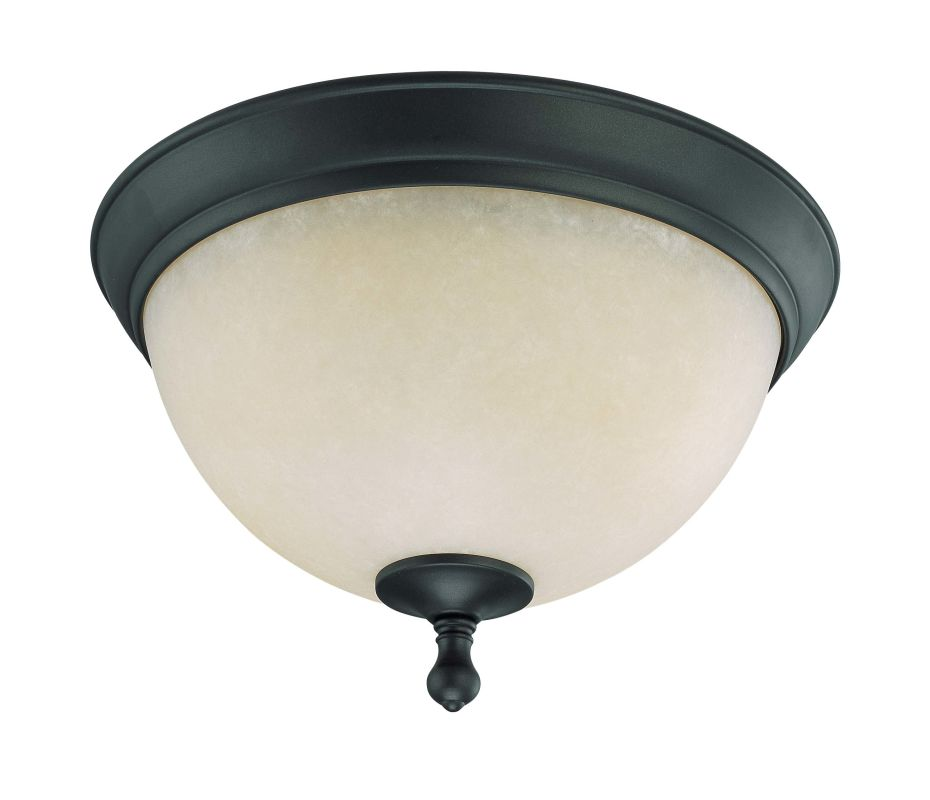 "Nuvo Lighting 60/2792 Bella 2 Light 13.5"" Wide Flush Mount Ceiling"