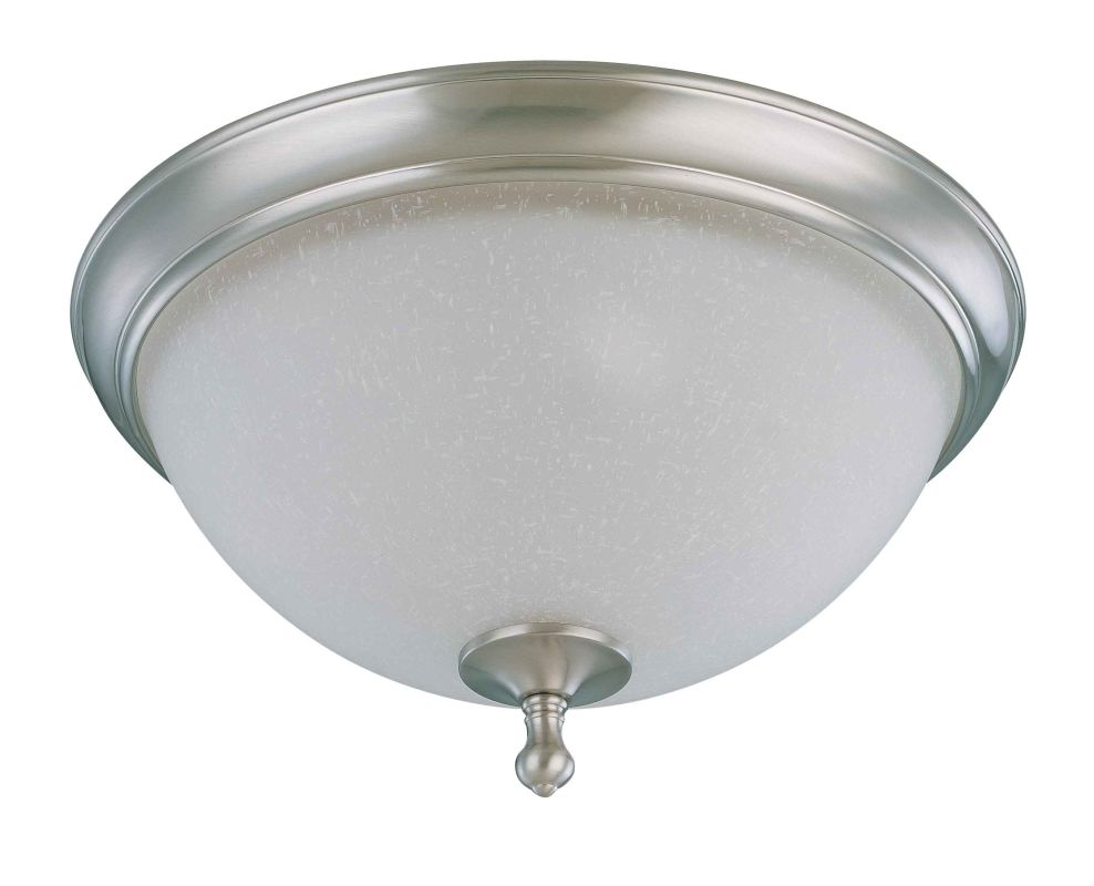 "Nuvo Lighting 60/2793 Bella 2 Light 15.8"" Wide Flush Mount Ceiling"