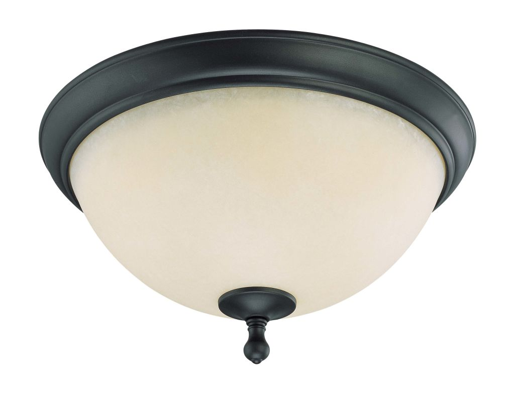 "Nuvo Lighting 60/2794 Bella 2 Light 15.8"" Wide Flush Mount Ceiling"