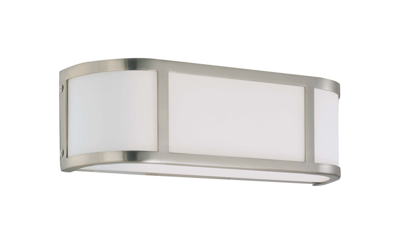 "Nuvo Lighting 60/2871 Two Light Ambient Lighting 15.5"" Wide Bathroom"