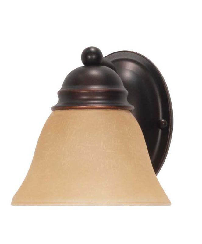 "Nuvo Lighting 60/3125 Empire Single Light 6.3"" Wide Bathroom Sconce"