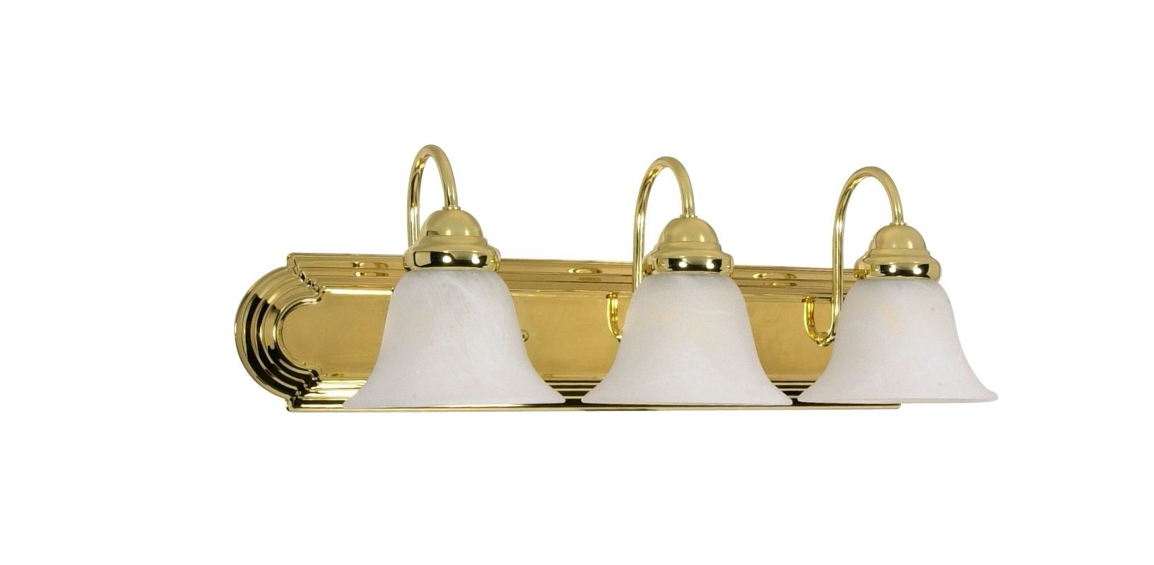 "Nuvo Lighting 60/329 Three Light Reversible Lighting 24"" Wide Bathroom"