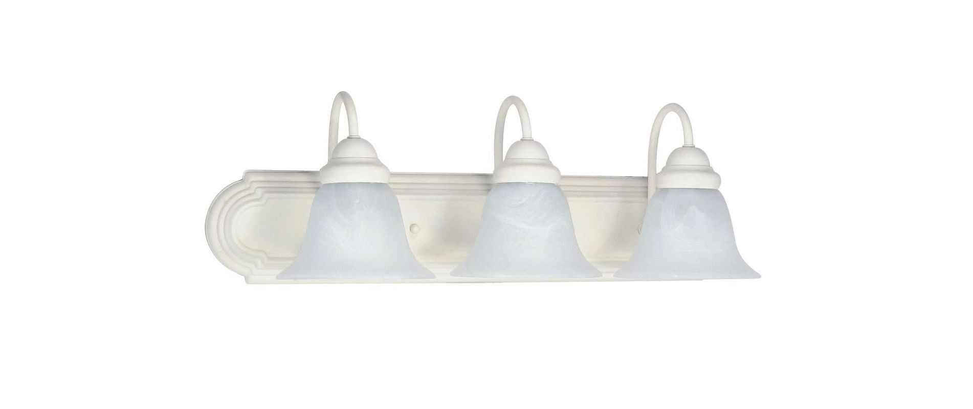 "Nuvo Lighting 60/333 Three Light Reversible Lighting 24"" Wide Bathroom"