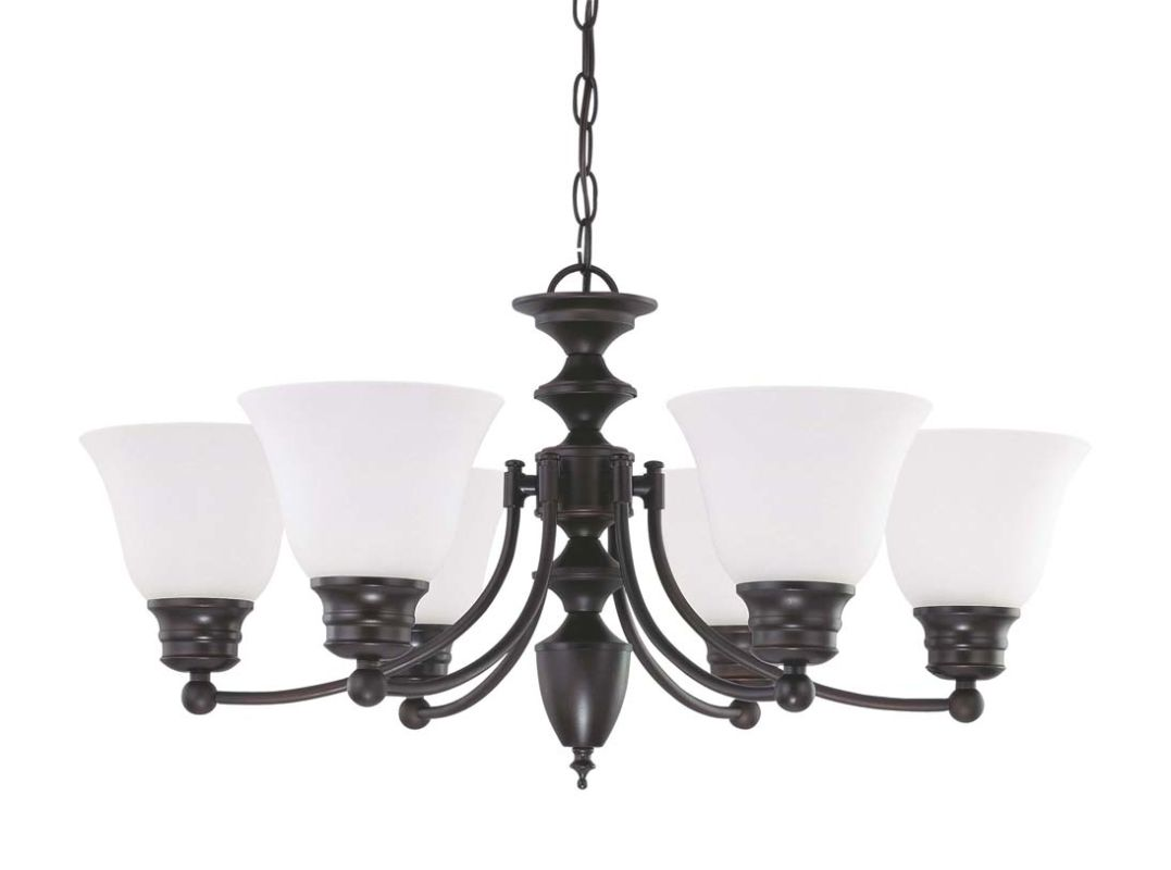 "Nuvo Lighting 60/3359 Empire 6 Light 26"" Wide Chandelier with"