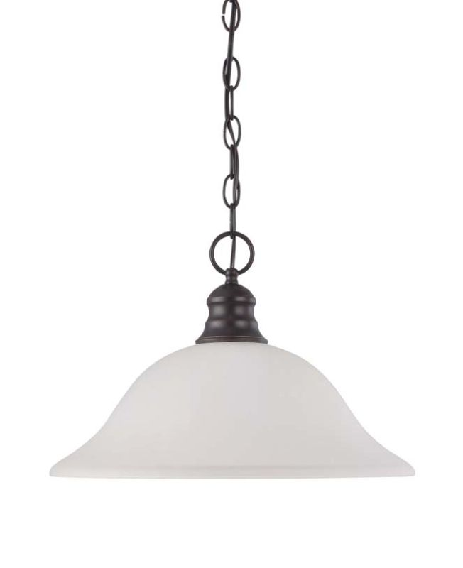 "Nuvo Lighting 60/3363 Single Light 16"" Wide Pendant with Champagne"